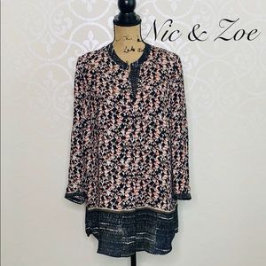 NIC & ZOE PATTERNED TOP